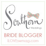 My Southern Wedding Bride Badge!
