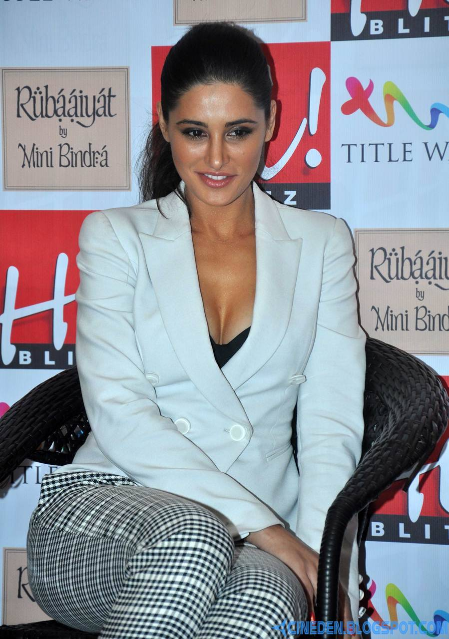 Nargis Fakhri at Hi! Blitz Magazine August 2013 launch - CineDen