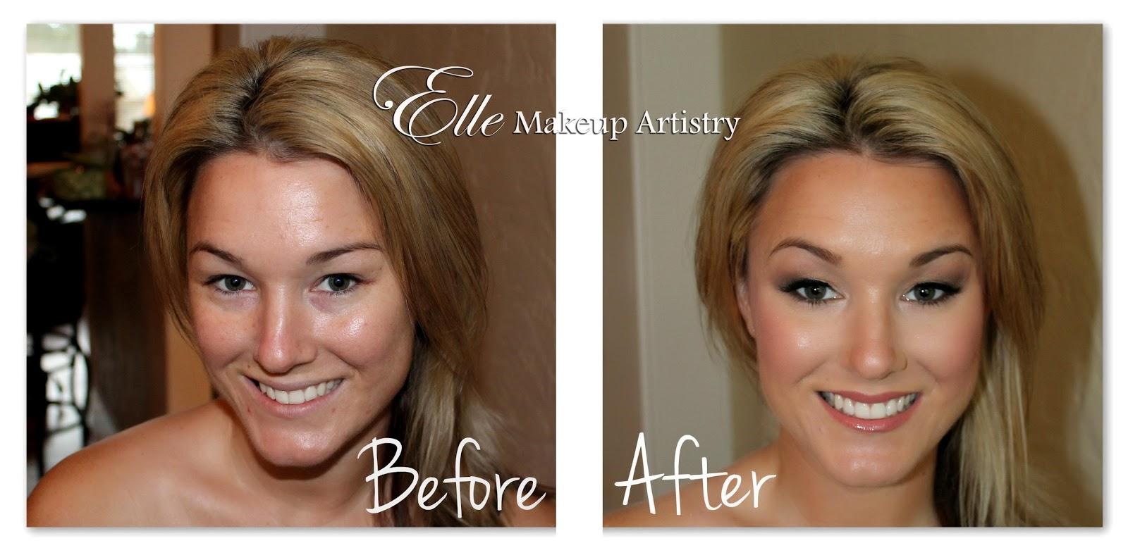 Wedding Eye Makeup Hooded Eyes : Elle Makeup Artist: Before and After - Beautiful Bridal ...