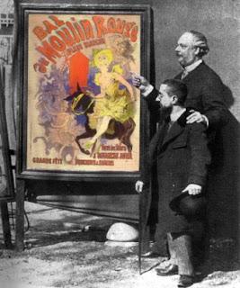 poster, men, artist, jules cheret