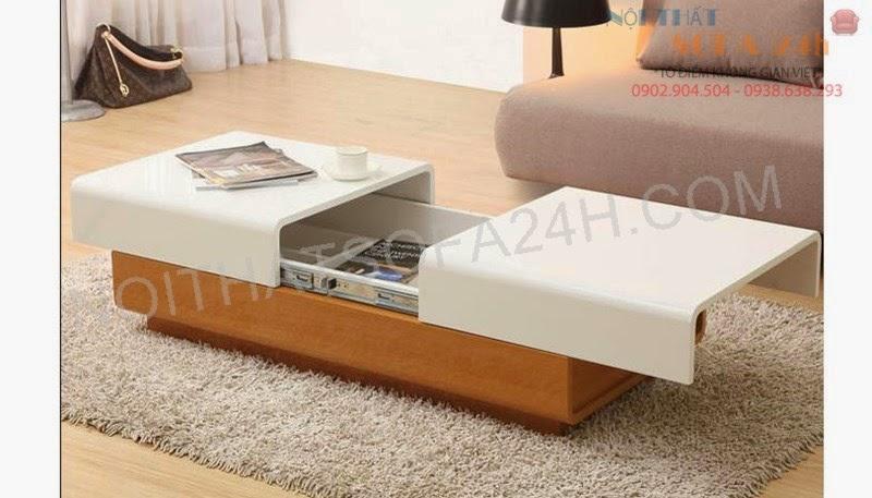 Bàn sofa gỗ BS078
