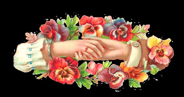 antique free flower