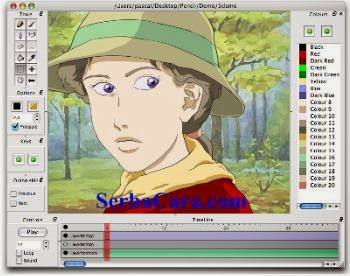 Software Untuk Membuat Animasi Kartun 2D