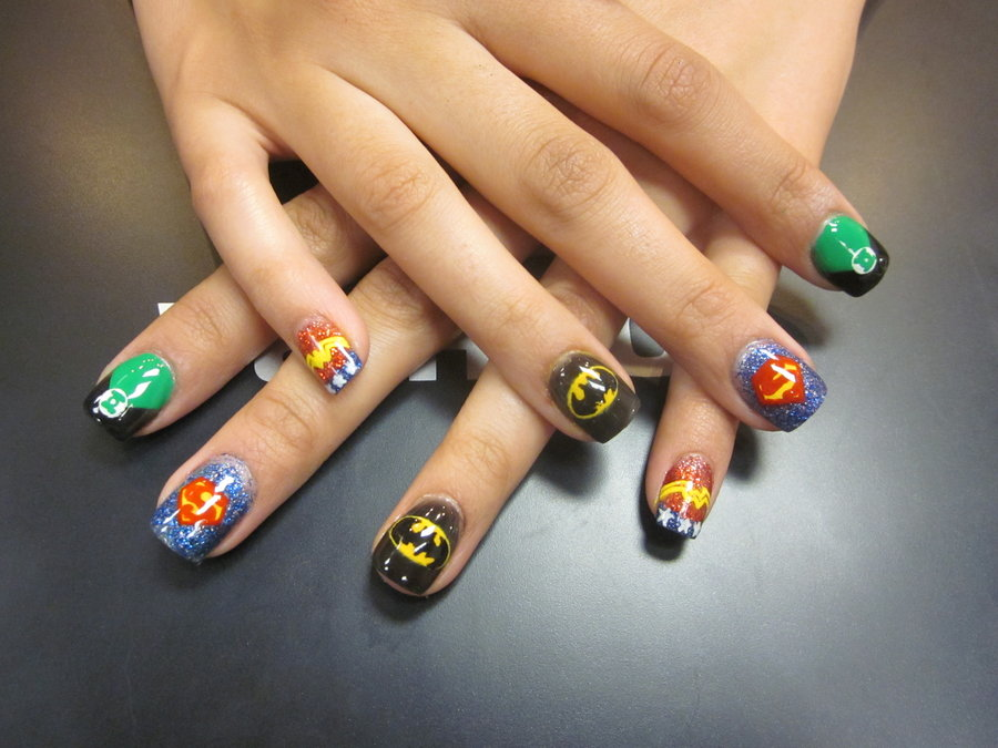 Don\'t Stand There Gawping!: JUSTICE LEAGUE NAILS