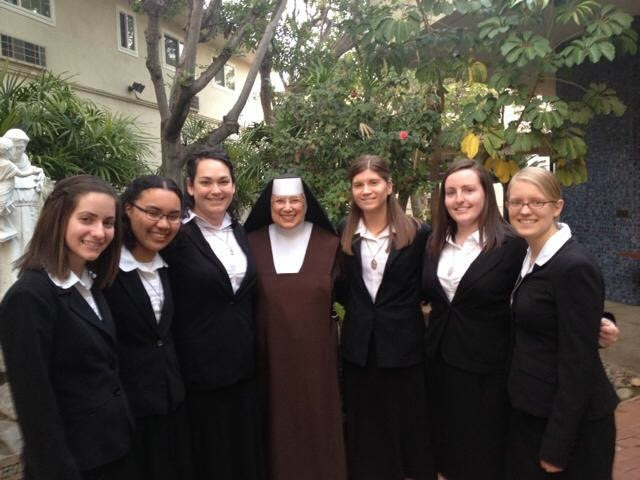 The Candidates with Mother Judith