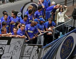 Rajasthan&nbsp Royals Team Parade