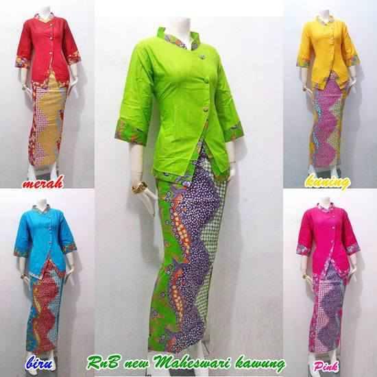 Setelan Baju Batik Wanita Untuk Pesta Pernikahan Baju
