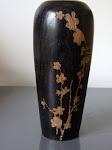 vase en chêne oxydé