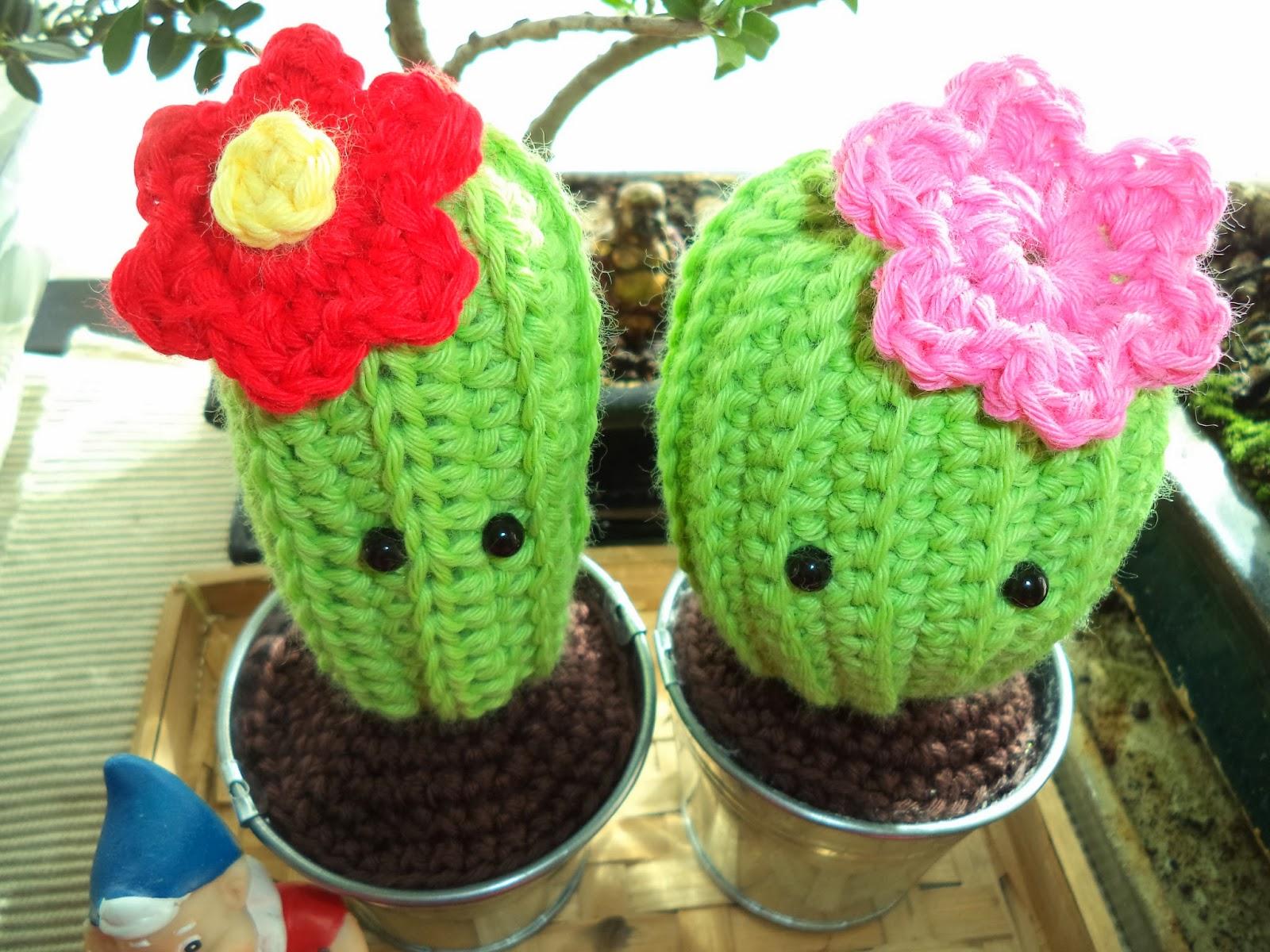 Amigurumi Cactus Crochet : Happy Ganchillo : Cactus Amigurumi - V?deo Tutorial