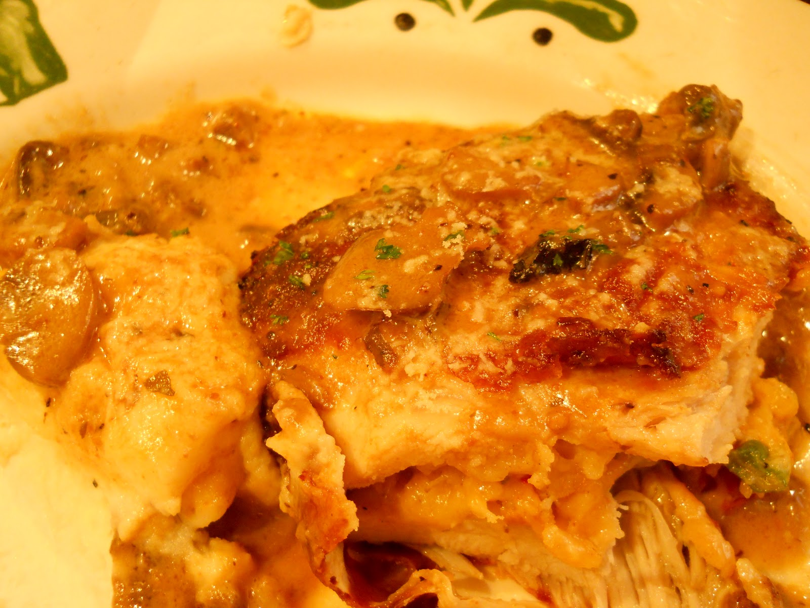 Oddball observations a visit to olive garden for Olive garden stuffed chicken marsala