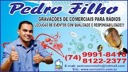LOCUTOR PEDRO FILHO