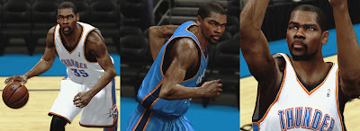 NBA 2K13 Realistic Kevin Durant Cyberface Patch