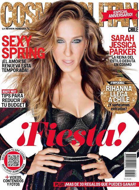 Actress @ Sarah Jessica Parker  - Cosmopolitan Chile, Septiembre 2015