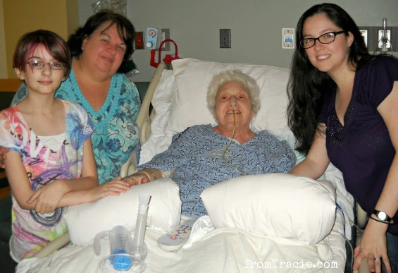 With Grandma In The Hospital