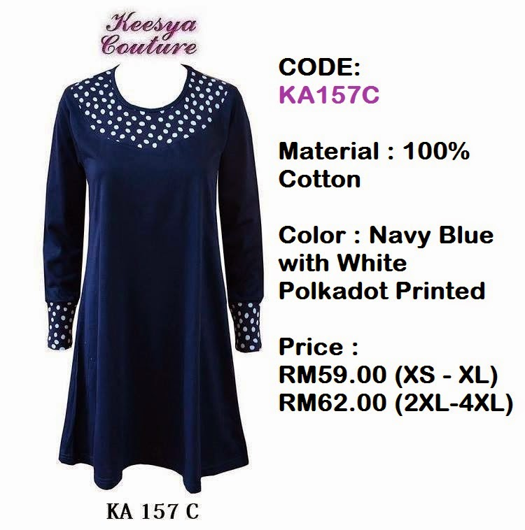 T-shirt-Muslimah-Keesya-KA157C