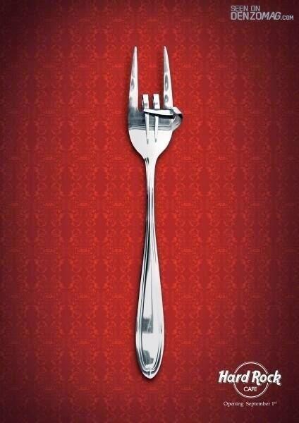 Publicidad creativa, Hard Rock Cafe