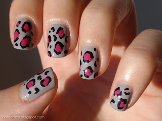 Essence Grey-t To Be Here pink leopard print
