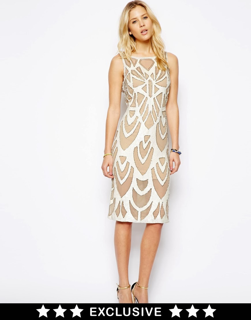 needle and thread midi dress