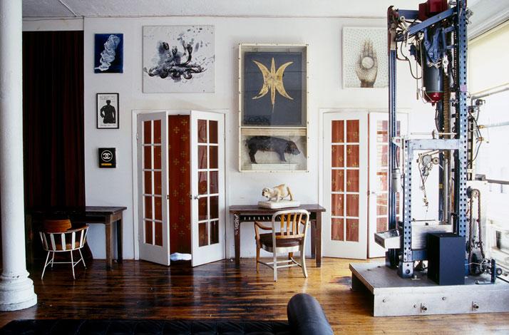 New York Loft Apartment Interior Design