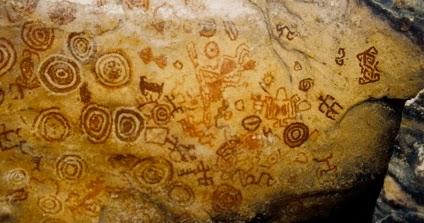 Arte rupestre Pictogramas e ideogramas historia de la