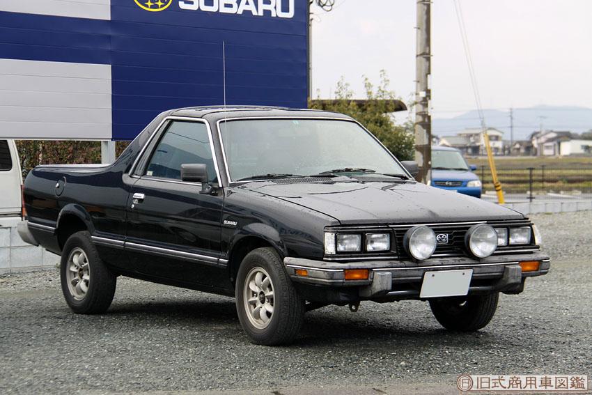 Subaru Brat, pick-up, ute, japoński klasyk, motoryzacja, stare modele, 日本車, ヒストリックカーは