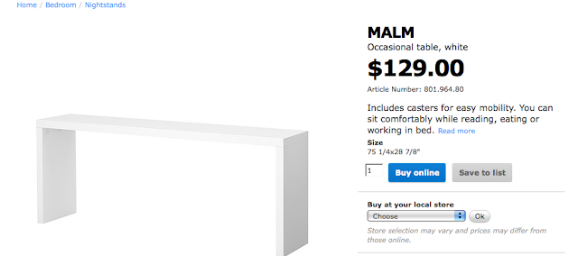 white gold ikea hack malm table to grasscloth console. Black Bedroom Furniture Sets. Home Design Ideas