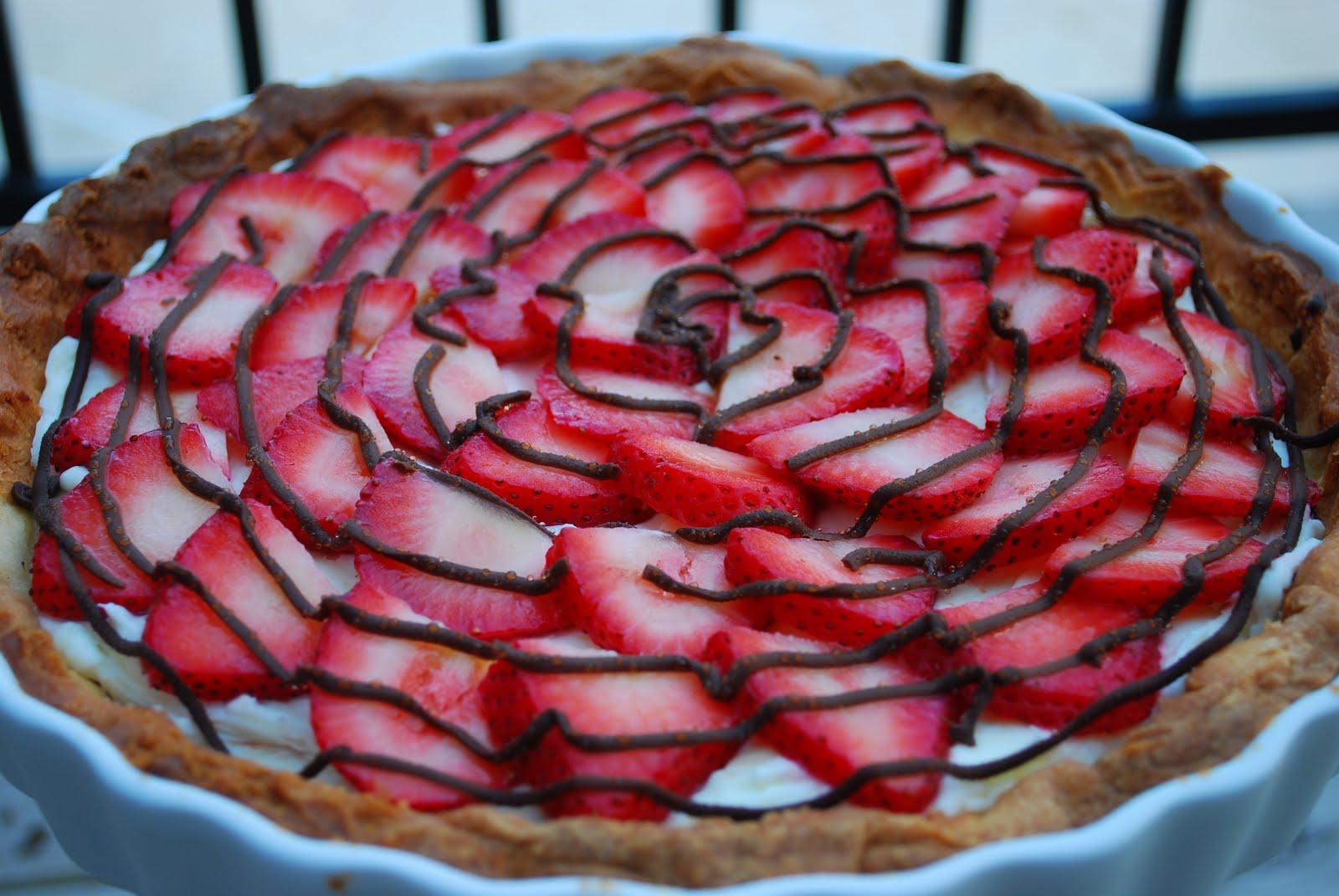 Lexi's Treats: Strawberry Cream Cheese Tart