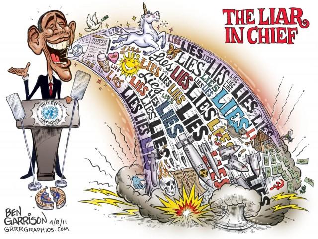 lying based career obama lies cartoons