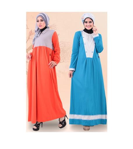 baju hamil muslim desain modis dan simple terbaru 2017/2018