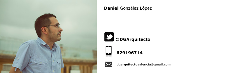 DANIEL GONZÁLEZ LÓPEZ ARQUITECTO VALENCIA