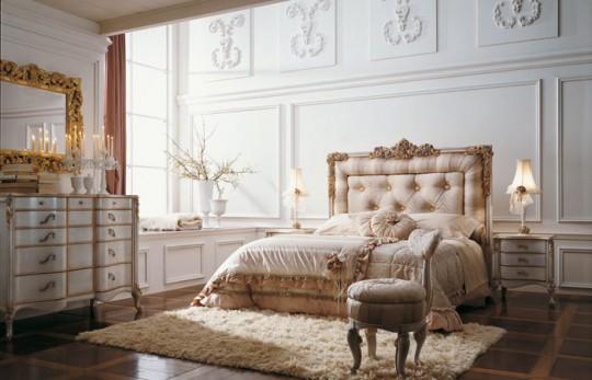 Decoración dormitorio clásico