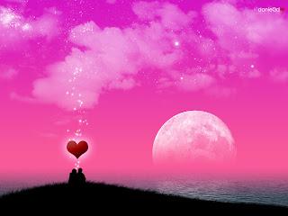 Foto de paisaje de amor
