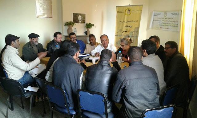 إجتماع بين وزارة الداخلية وممثلي الأساتذة المتدربين لحل الملف نهائيا