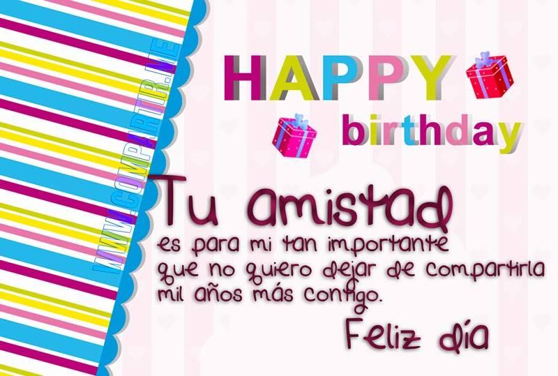 Tarjetas de Cumpleaños para Felicitar a un Amigo - ツ Tarjetas y ...