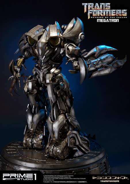[Prime1Studio] Transformers: Revenge of The Fallen: Megatron Polystone Statue 1363962861_4
