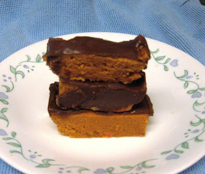 ... Does Dinner... Healthy & Low Calorie: Homemade Butterfinger Candy Bars