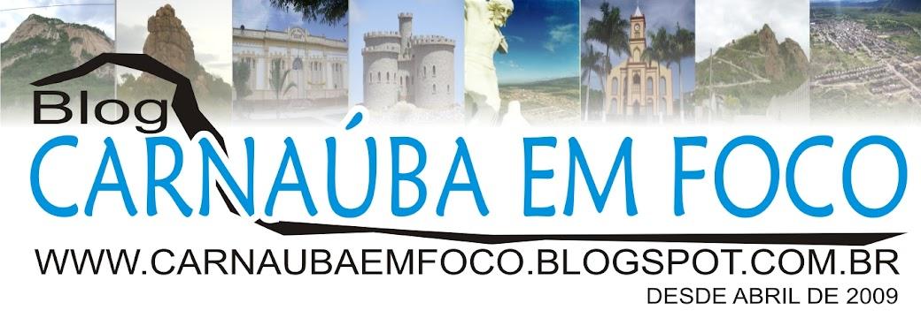 Carnaubaemfoco logo