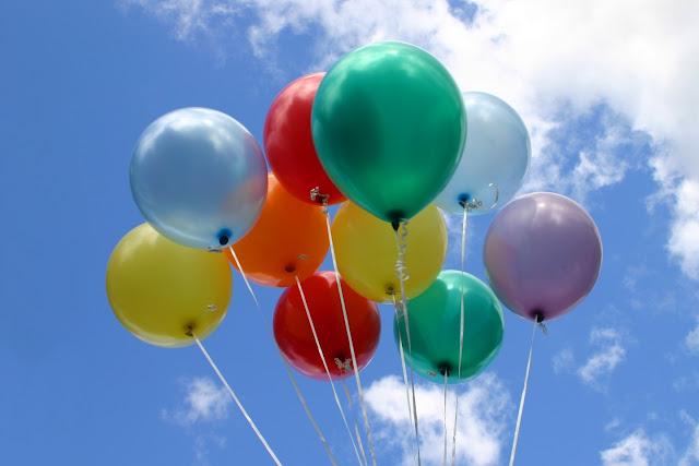 Helium balloner, ganske lette