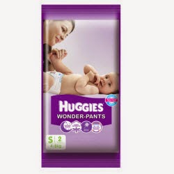 Flipkart First Customers: Huggies Wonder Pants Small 2 Pieces Pack at Rs.1 : Buy To Earn