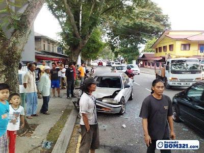 Kemalangan Di Jalan Dato' Keramat 30.3.2011