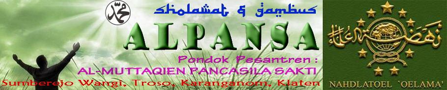 Sholawat & Gambus AL PANSA