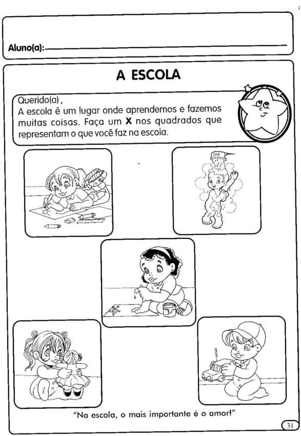 Atividades para o primeiro dia de aula 8