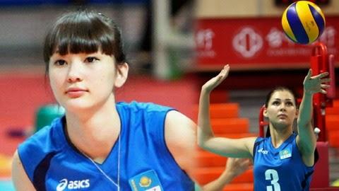 Atlet Voli Cantik Kazhakstan Sabina