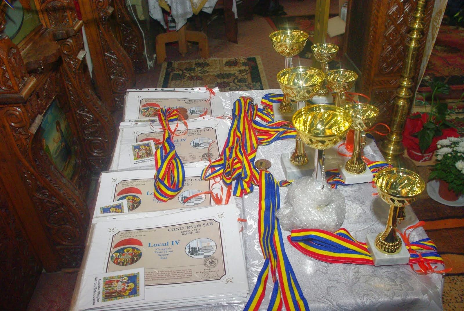 Cupele, medaliile, diplomele