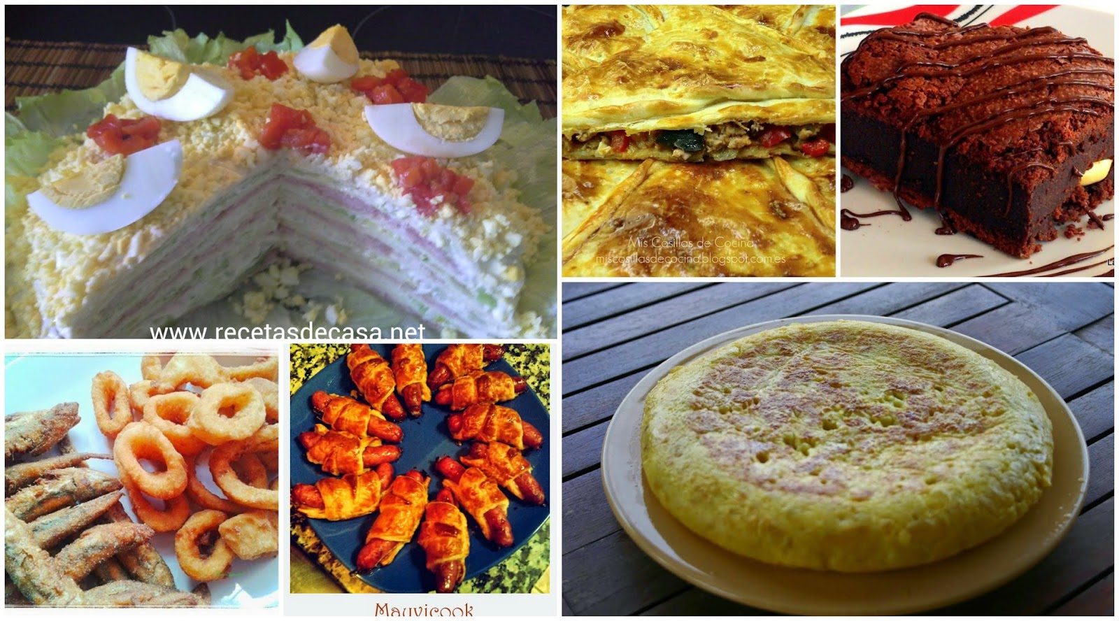 Cocina f cil seis recetas para una cena de picoteo for Ideas para una cena de picoteo