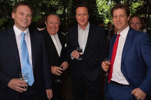 David Cameron and Andrew Neil
