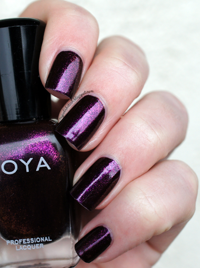 duochrome purple nail polish