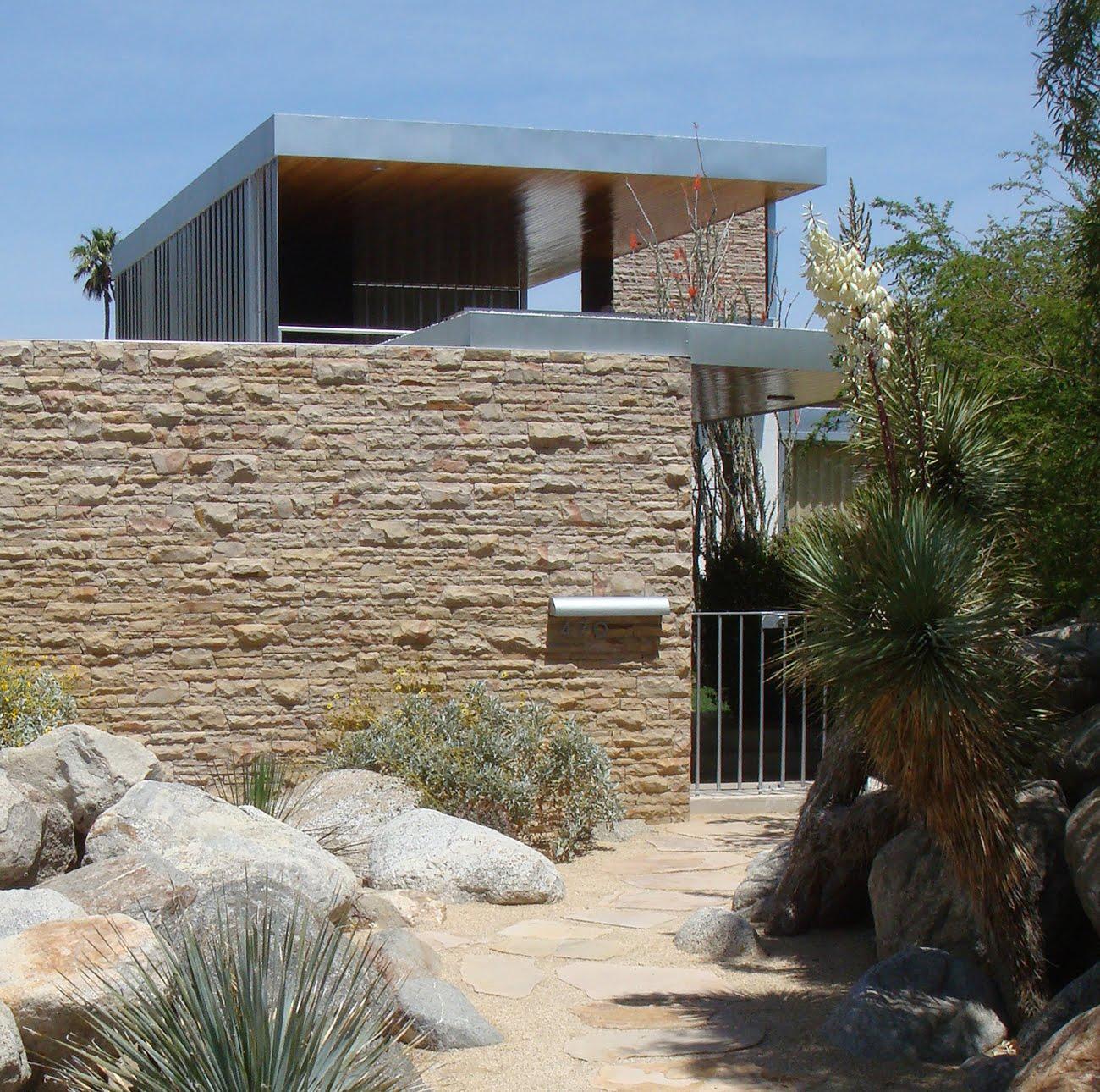 Richard Neutra Kaufmann Desert House In Palm Springs