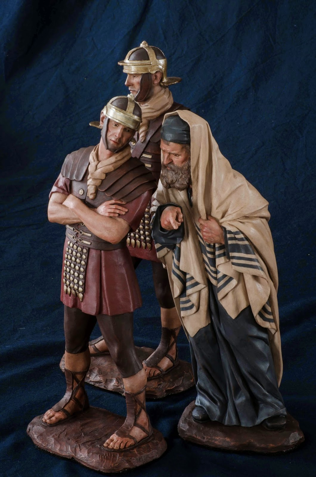 Belén presepe nativity krippe Arturo Serra escultura barro cocido 3