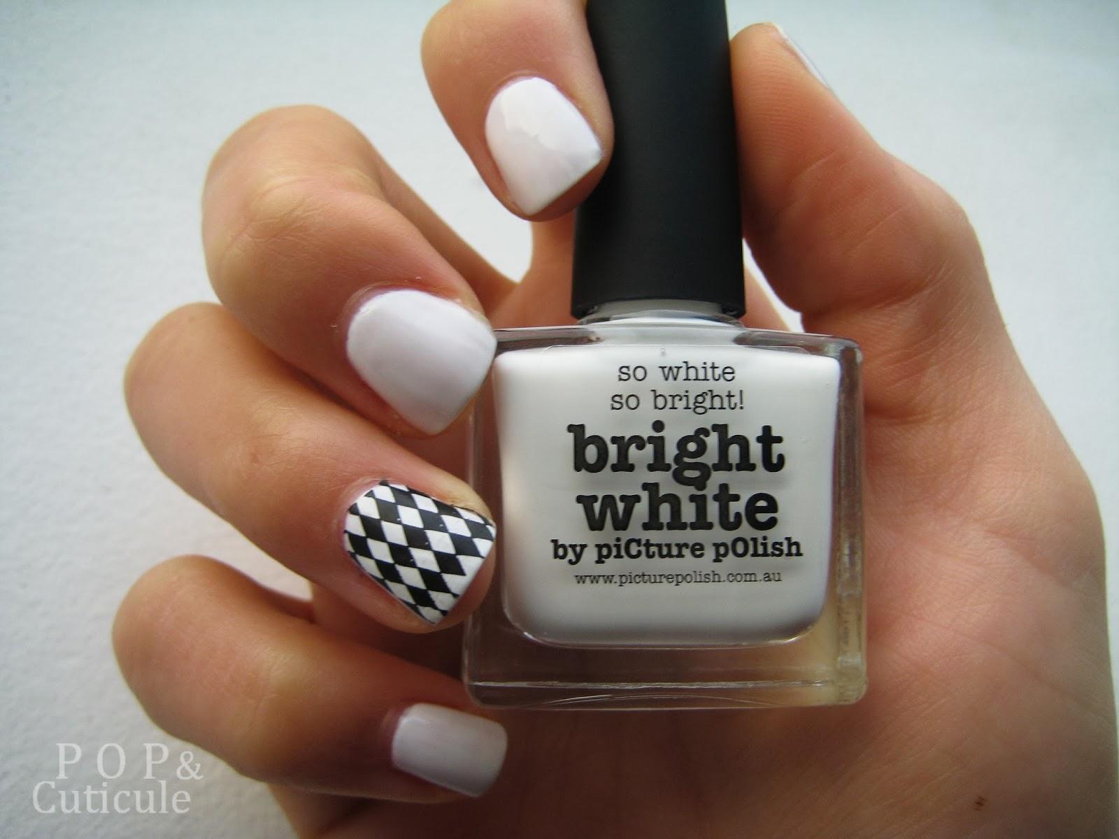 Bright White Picture Polish